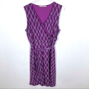 41 Hawthorn Geometric Wrap Dress